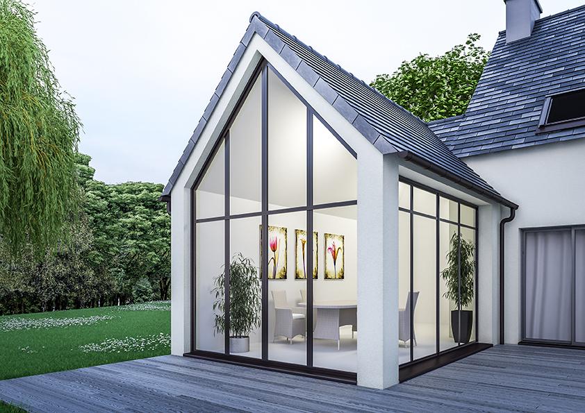 Extension de maison traditionnelle pour agrandir sa maison for Agrandissement maison 28