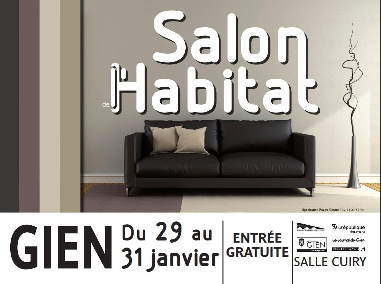 Salon de l 39 habitat de gien du 29 au 31 janvier 2016 for Salon de l habitat chambery 2017