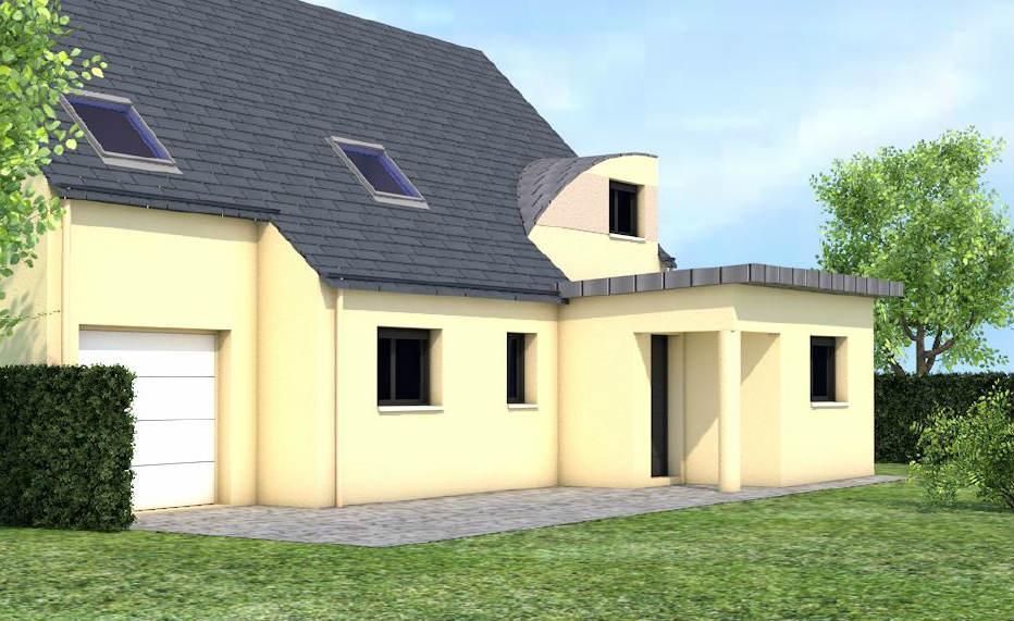 Extension maison rennes nouveaux chantiers de l 39 agence - Extension maison 1930 nord ...