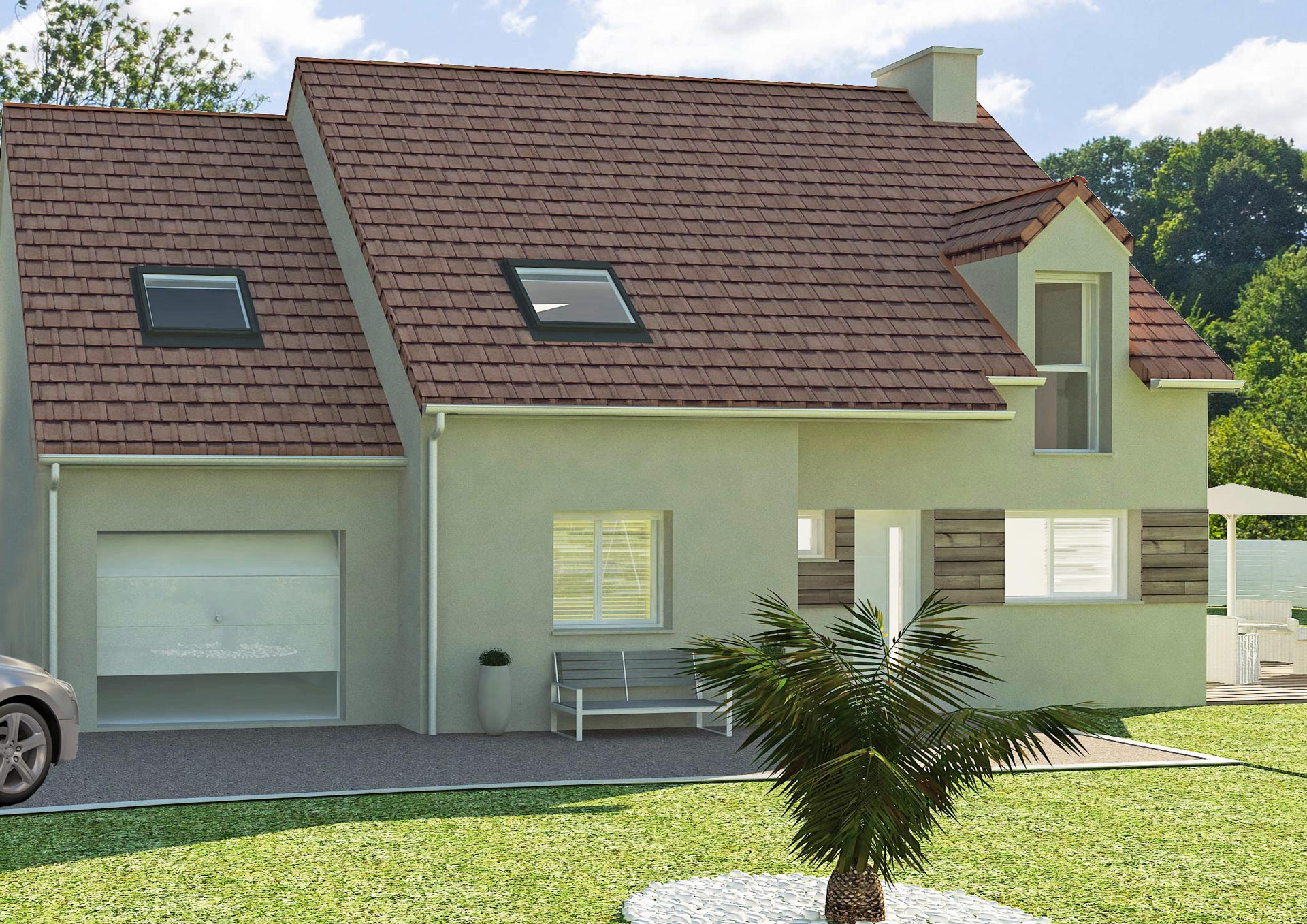 construction et isolation garage avec cybel extension. Black Bedroom Furniture Sets. Home Design Ideas