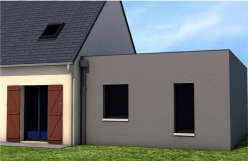 Agrandissement de maison taden 22 for Agrandissement maison 22