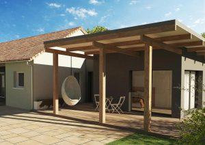 Extension maison design agencements extérieurs STONE