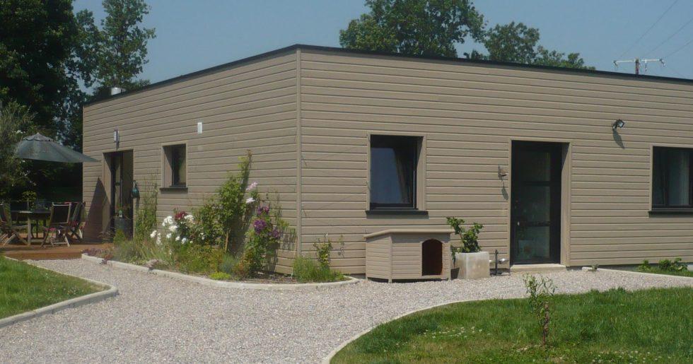 Extension maison bois - 45200