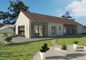 Agrandissement d'une maison traditionnelle en pignon 30 m2