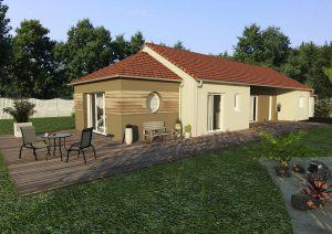Agrandissement maison traditionnelle en pignon 20 m2