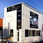 Cybel extension maison vitrine agence montargis 45
