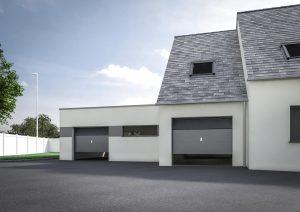 Extension garage double design modèle IRIS