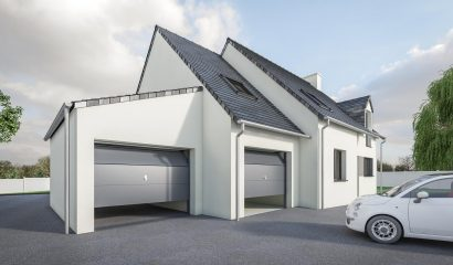 DREAM Garage Ardoises monopente