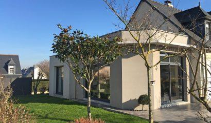 Extension maison toit plat -35530