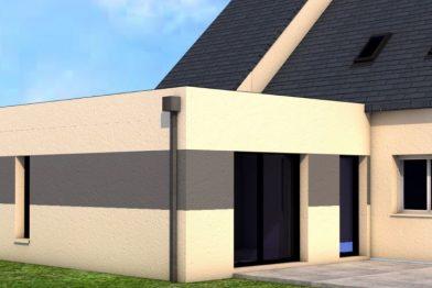 Extension de maison à Vern / Seiche (35)