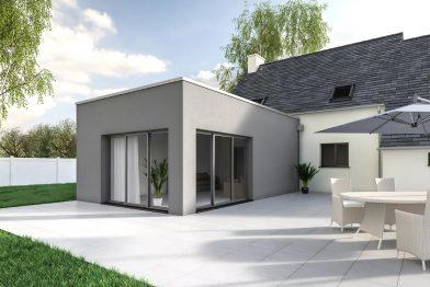 Extension de maison à Rennes