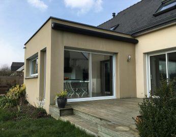 Extension maison toit plat - 35690