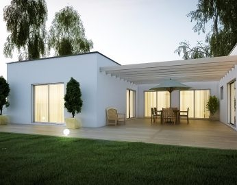Extension maison toit plat