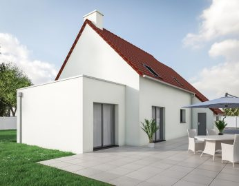 Extension maison annecy annemasse thonon les bains cybel for Prix extension maison toit plat