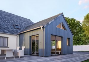 extension bois maison traditionnelle
