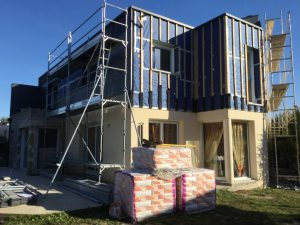 agrandissement renovation maison chantier le rheu 35