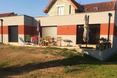 Agrandissement maison et rénovation à Amilly (45200)