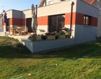 Extension maison toit plat - 45200