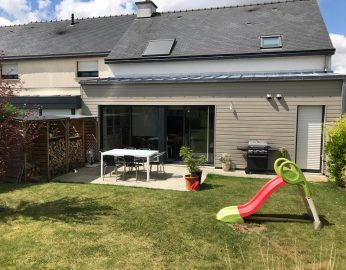 Extension maison rennes cesson s vign contactez cybel for Extension maison 25m2