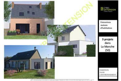 Extension de maison dans La Manche – 50110