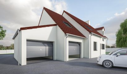 DREAM Garage Tuiles monopente