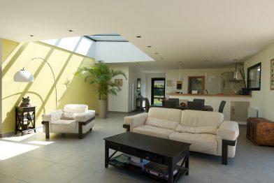 Agrandissement maison salon séjour 50 m2 Montargis Loiret (45)