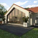 Agrandissement de maison traditionnelle vitrée