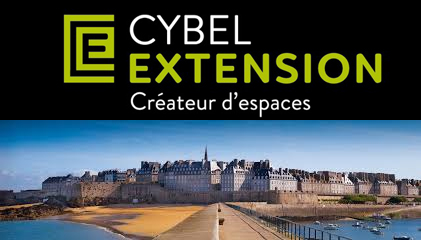 Cybel extension maison agence saint malo 35