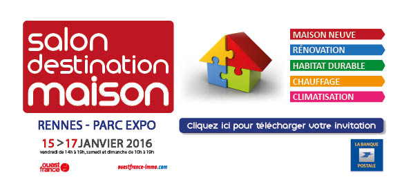 Salon destination maison rennes 35 cybel extension for Salon parc expo rennes