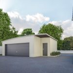 Agrandissement garage design moderne