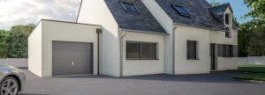 Extension garage toit plat pour agrandir sa maison