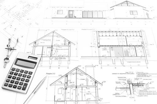 plan extension et agrandissement maison