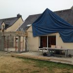 agrandissement renovation maison chantier le rheu 35
