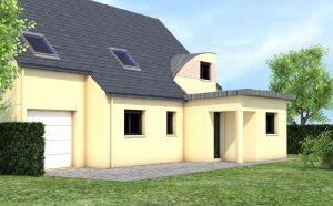 Cybel extension maison meziere sur couesnon 35