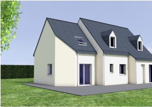 Extension maison et garage rennes nos nouveaux chantiers for Agrandissement maison par le garage