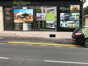 extension maison périgueux agence locale vitrine