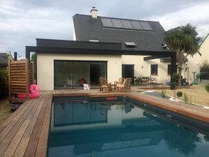 extension maison piscine Chateaubourg 35220
