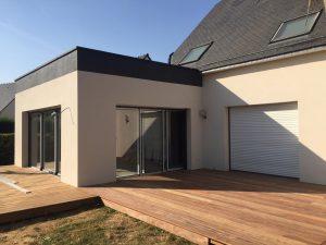 extension maison piscine Chateaubourg 35220