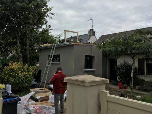 extension maison chambre saint-nazaire 44600