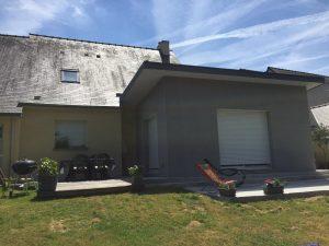 Extension maison salon 35 m2 Vitré Ille et Vilaine (35)