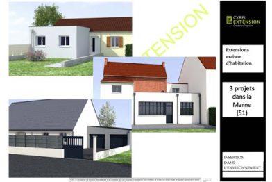 Extension de maison dans la Marne (51)