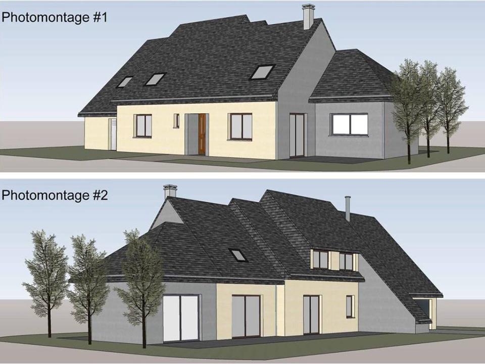 Extension Maison Architecte Change 53810 Cybel Extension