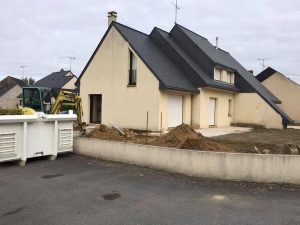 Extension maison architecte CHANGE 53810