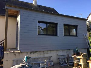Extension maison bois mayenne 53100