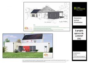projets extension maison morhiban lorient