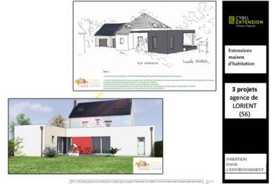 Extension maison près de Lorient dans le Morbihan (56)