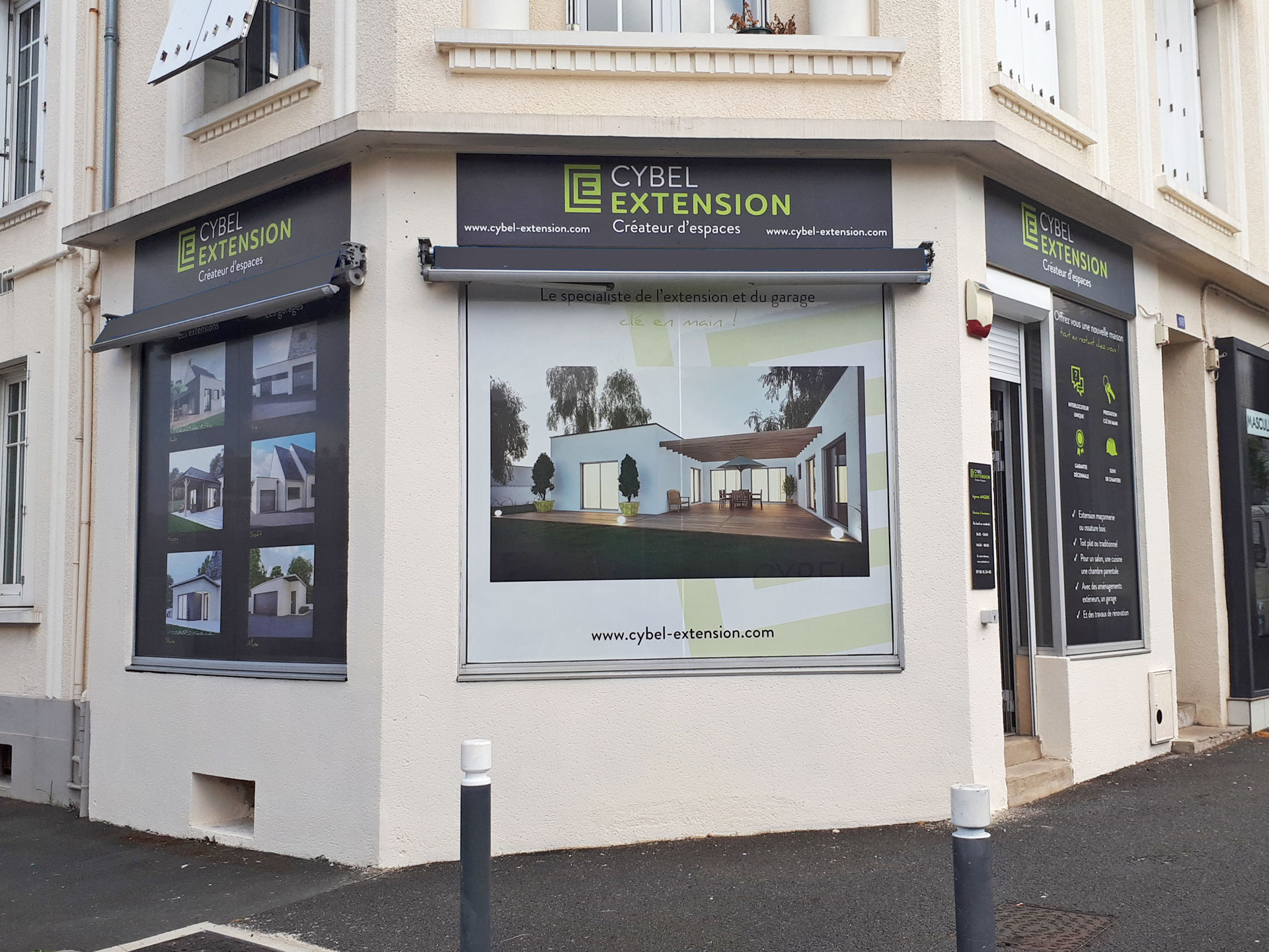 extension maison angers maine et loire 49 notre agence locale 49 cybel extension. Black Bedroom Furniture Sets. Home Design Ideas
