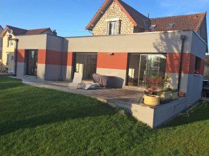 agrandissement maison terrasse exterieure