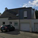 agrandissement maison garage bruz 35170