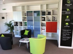 accueil agence CYBEL EXTENSION Nantes